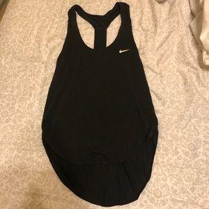 Nike dri fit black T-back athletic tank top - XS